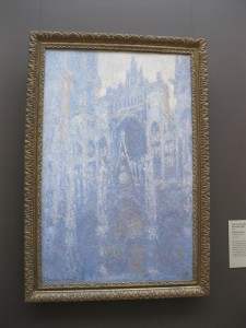 Monet's Rouen cathedral