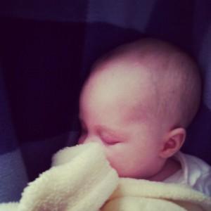 Evey sleeping