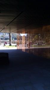courtyard - de young