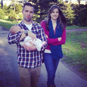 caleb, sadi and evelyn - golden gate park