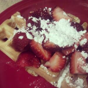 Grandma's waffles