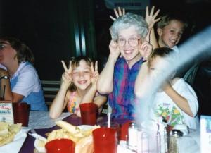 goofin' with grandma