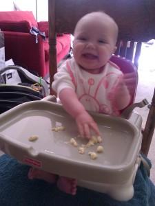 loves bananas!