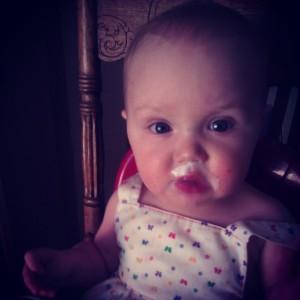 yogurt mustache