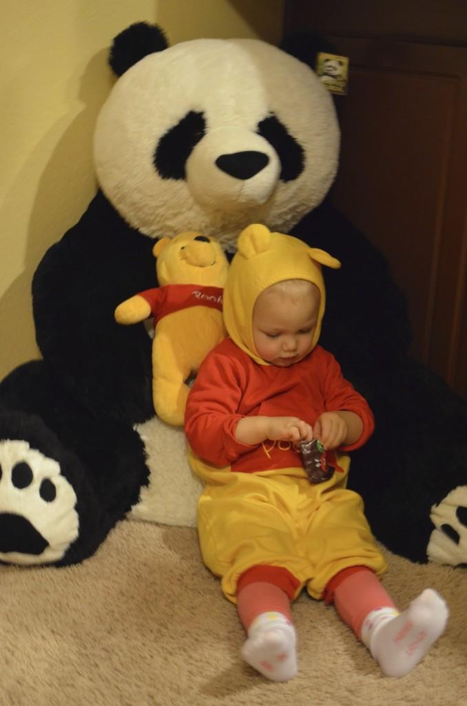 Panda and Pooh