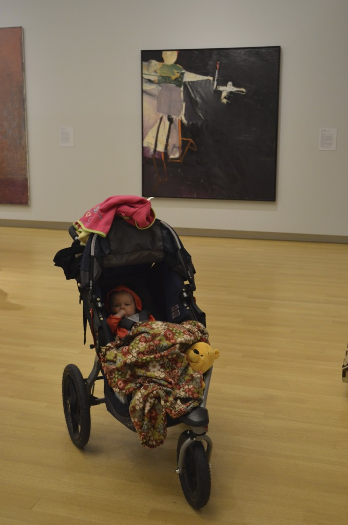 baby and art