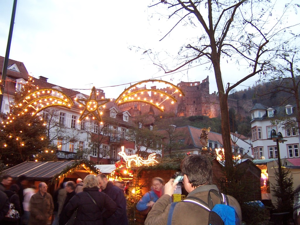 Christmas market in Heidelberg