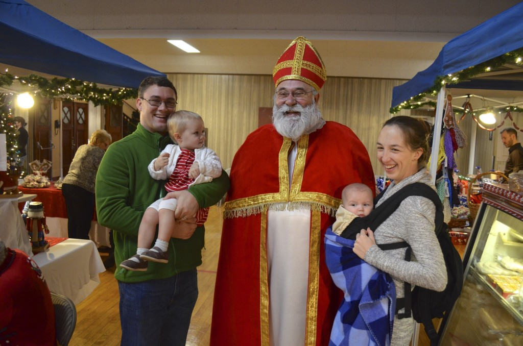 visit with St. Nick