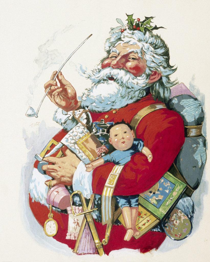 first santa claus