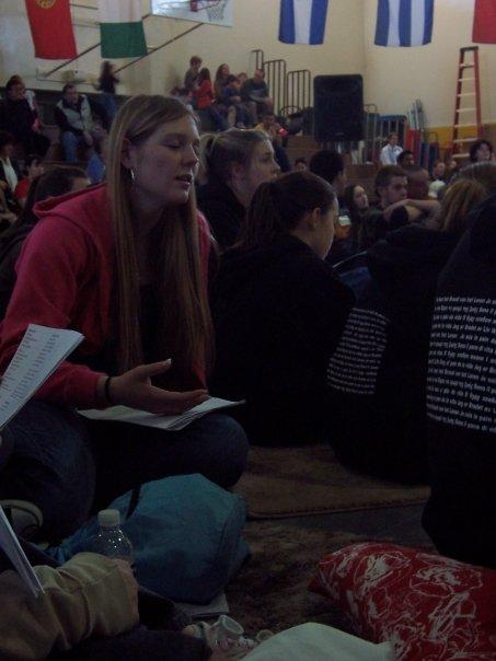 kayleigh in prayer