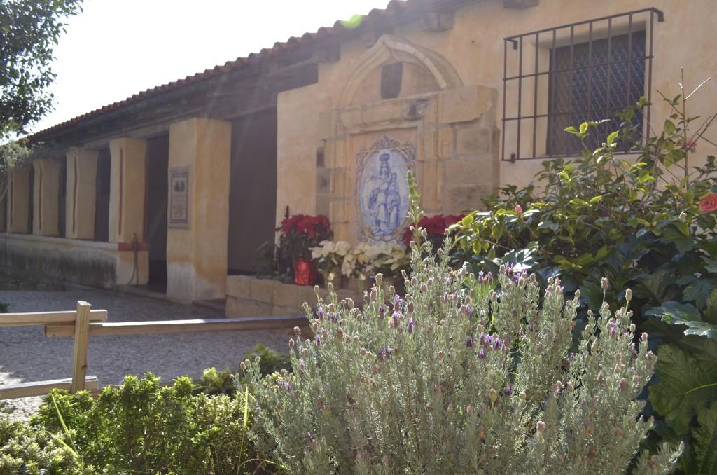courtyard at Carmel