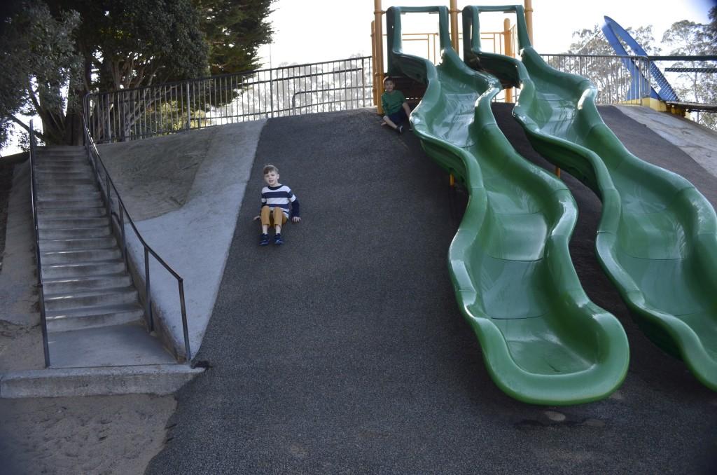 green slides