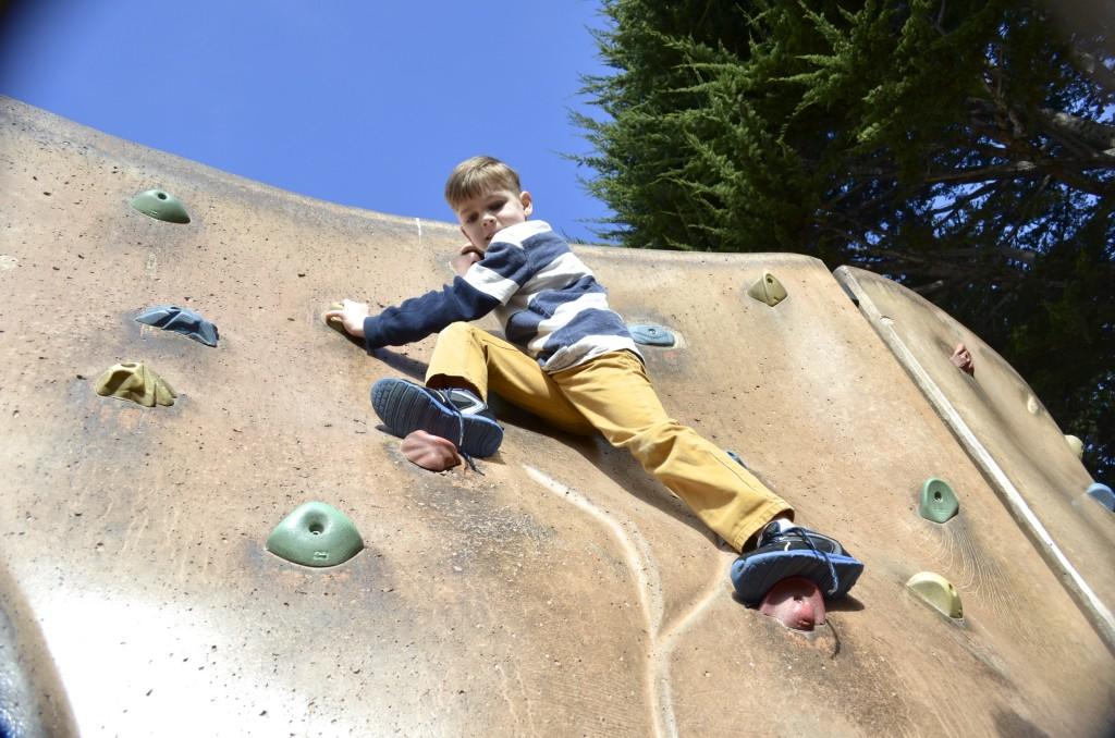 Owen climbs