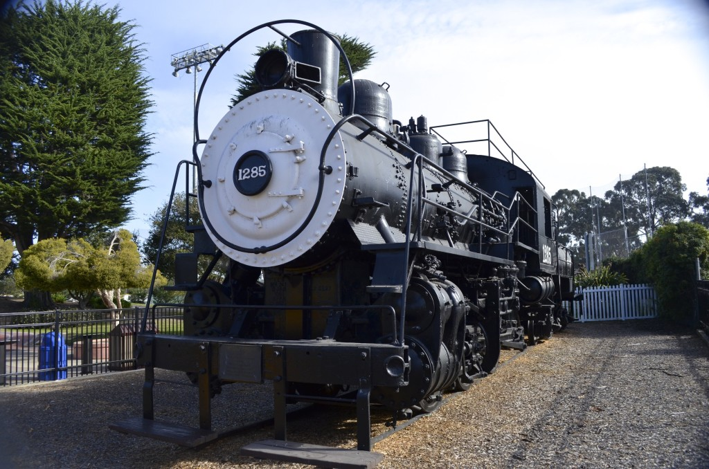 train at Dennis the Menace