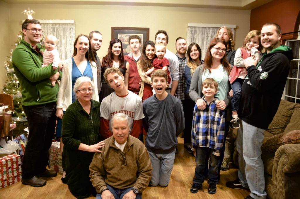 Munsill family xmas