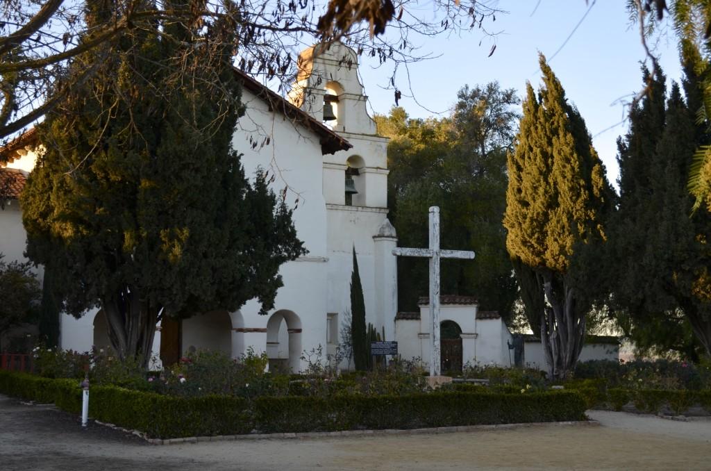 Mission San Juan Bautista at dusk
