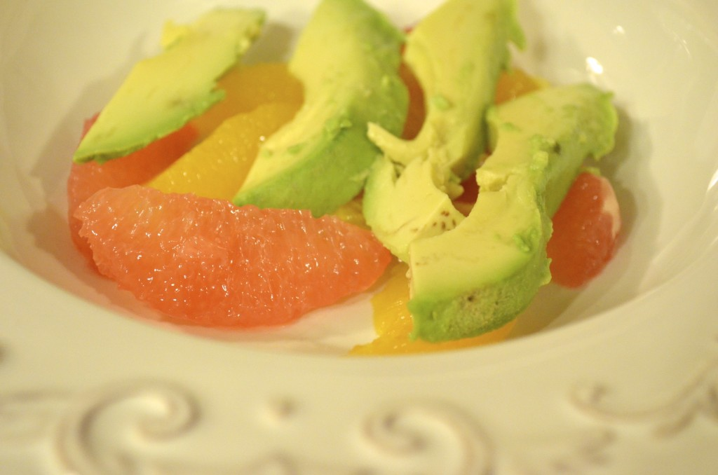 avocado and citrus