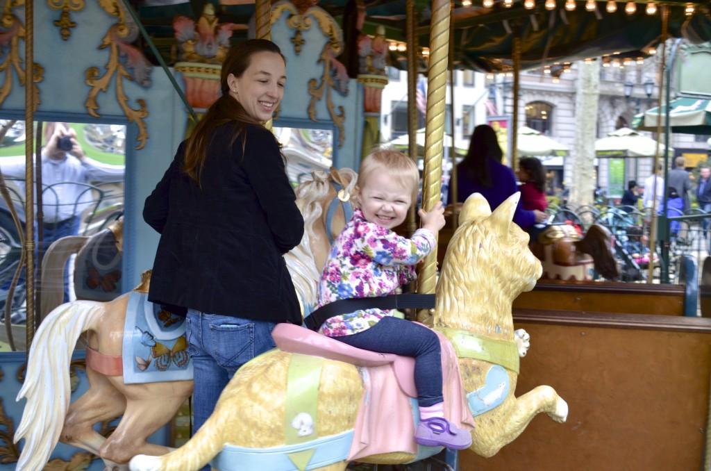 carousel Bryant Park