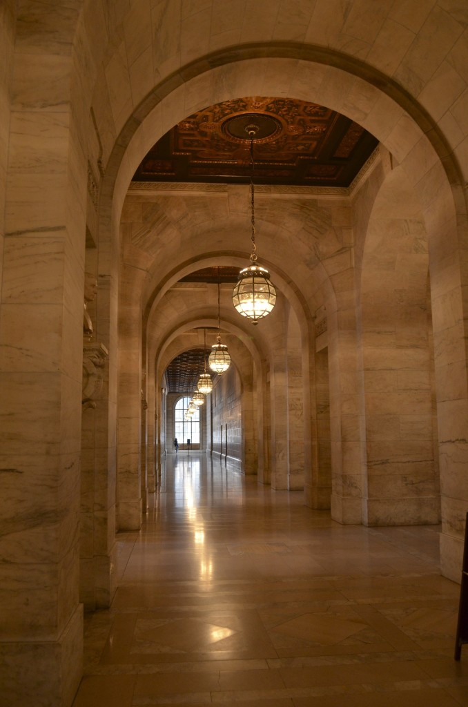 nyc library halls