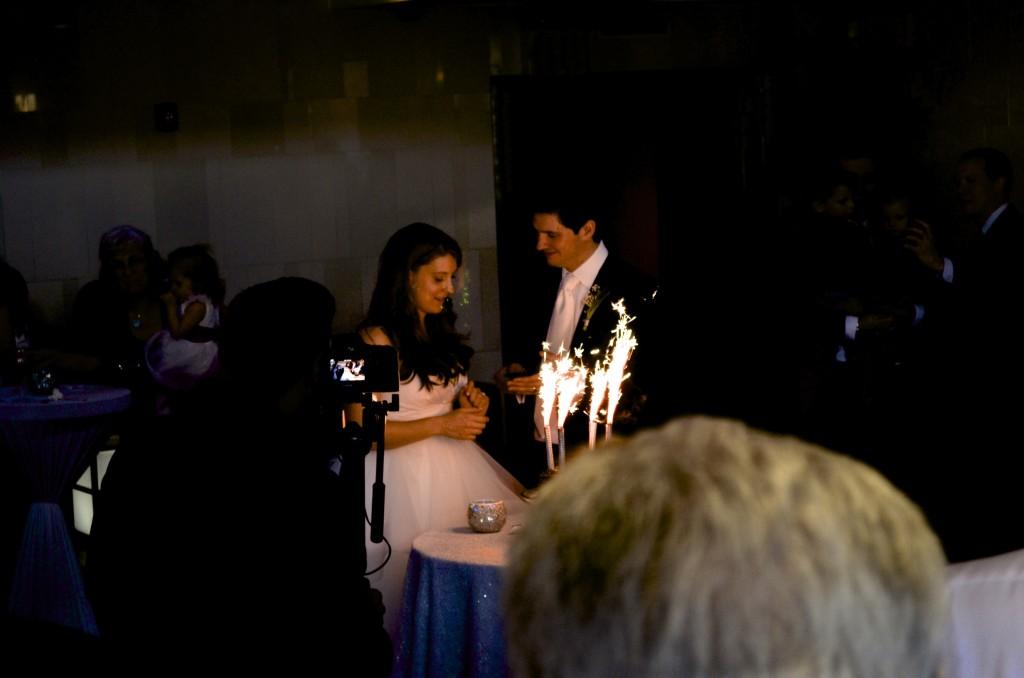 wedding cake sparks
