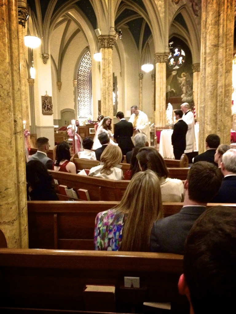 wedding at st malachys