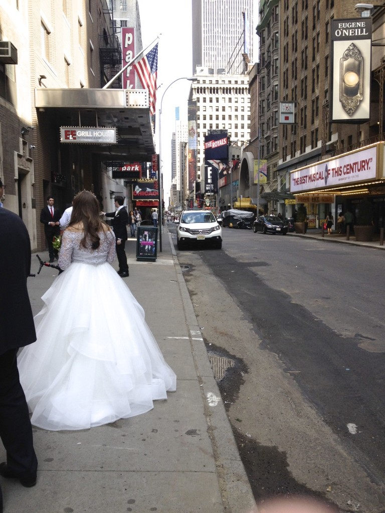 bride in nyc