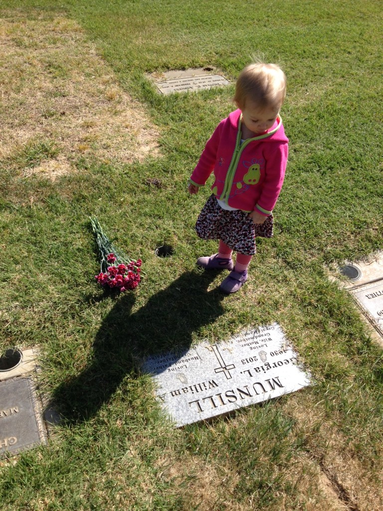 visiting great grandma