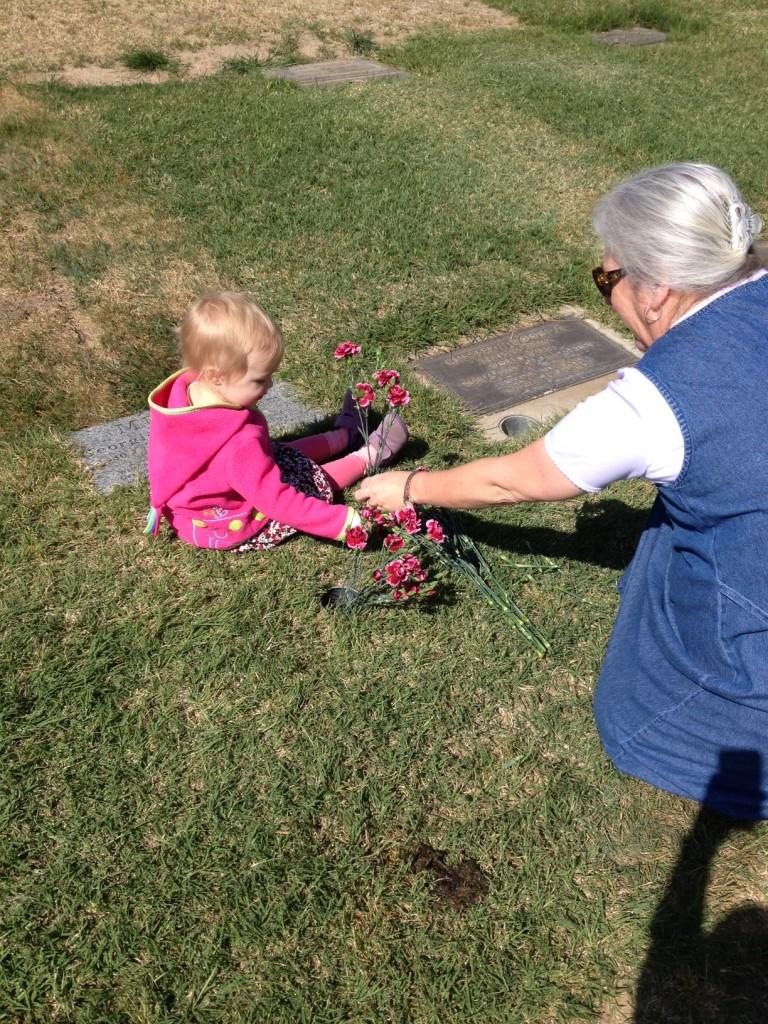 flowers for great grandma