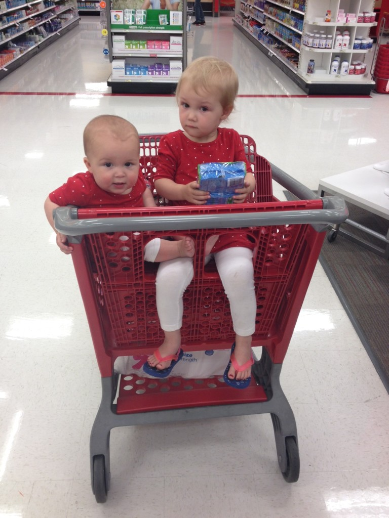 red-ladies-in-target-shopping