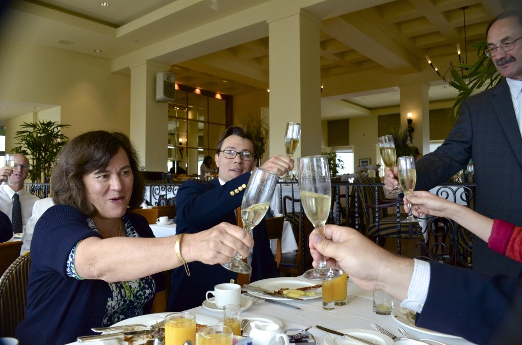 toasting-to-the-new-doctor