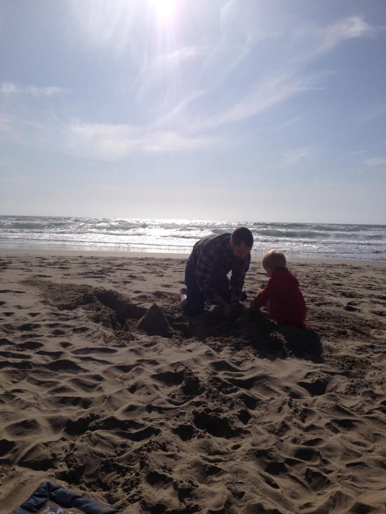 making-sand-castles