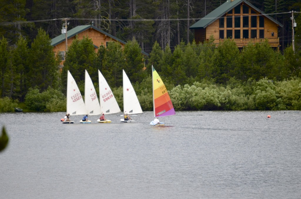 sailboat race Serene Lakes