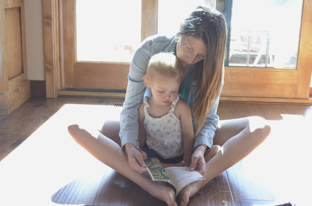 reading with Aunt Lindy
