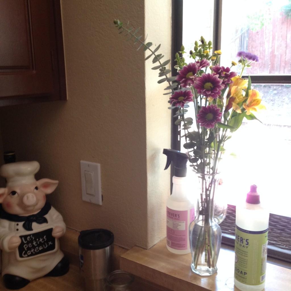 kitchen-flowers