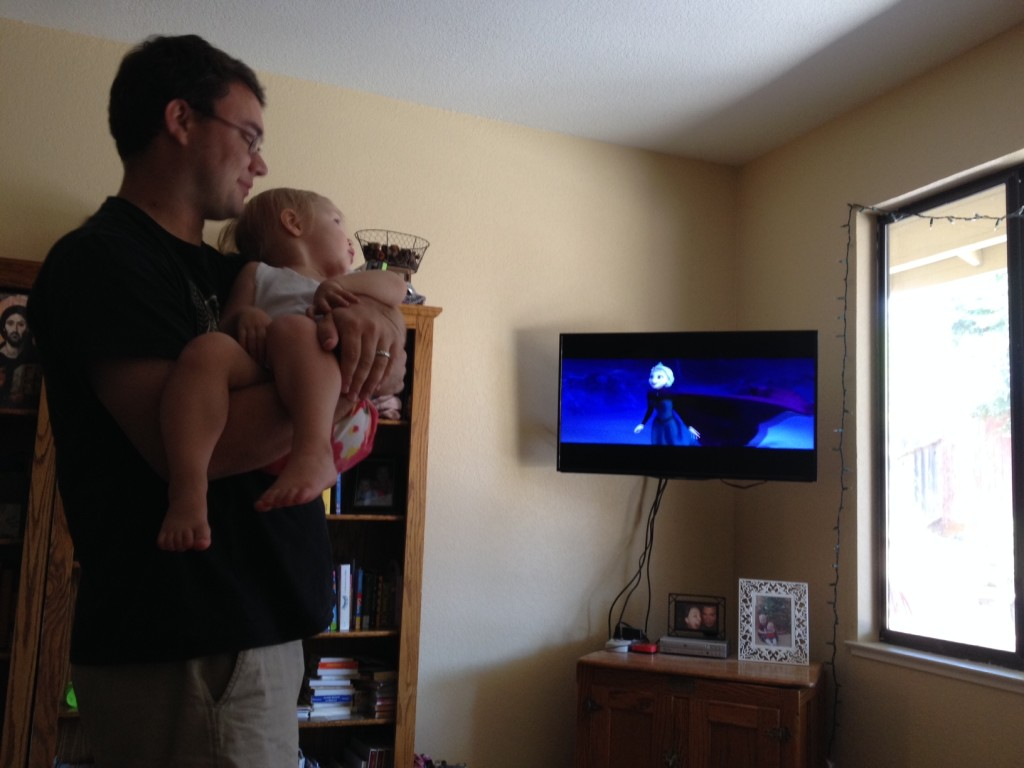 frozen-with-daddy