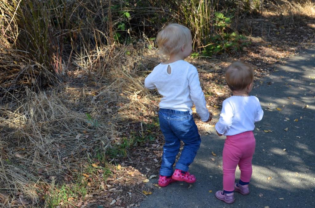 sisters-walking