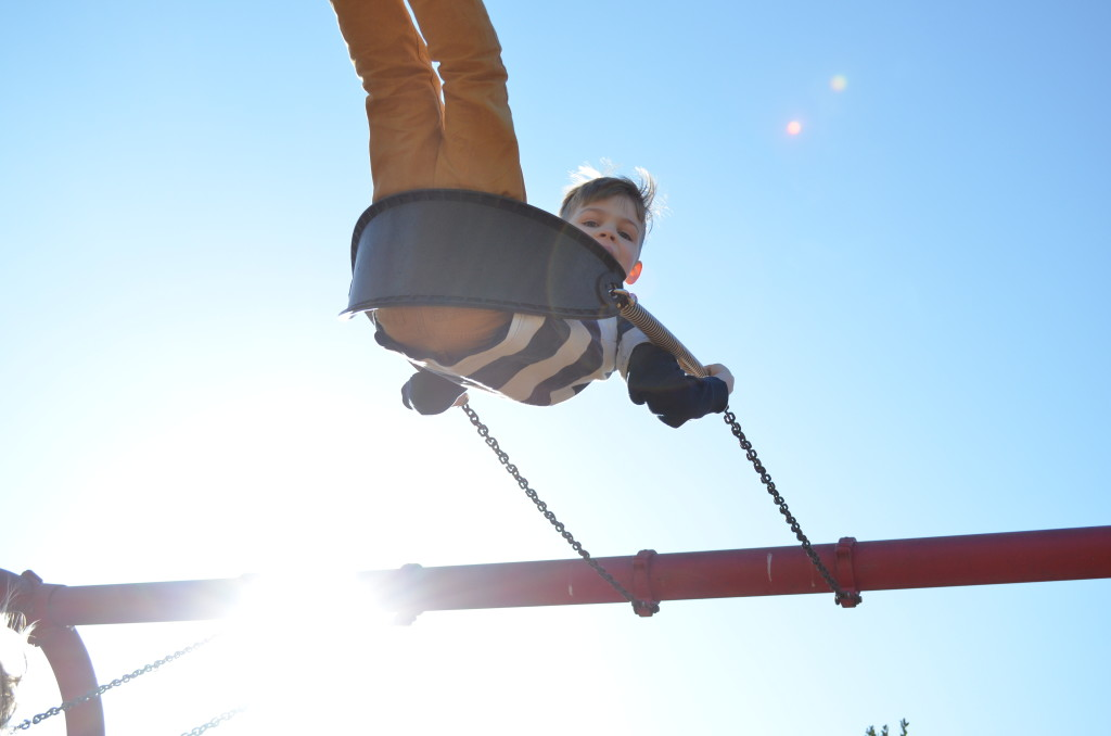swinging high - January 2015