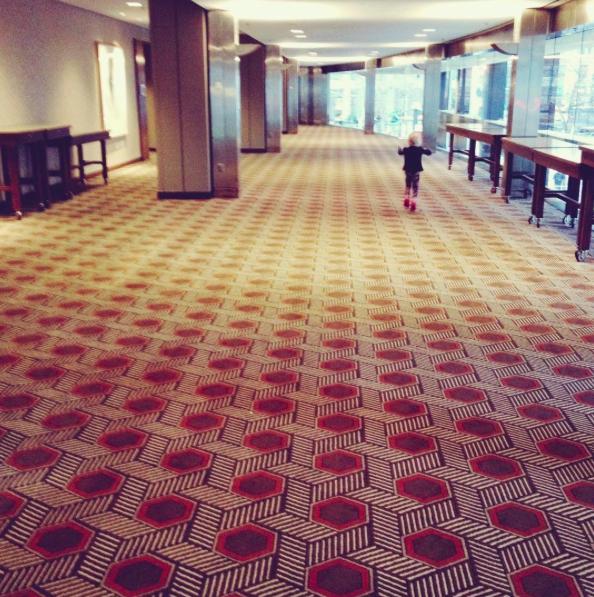hotel hopping