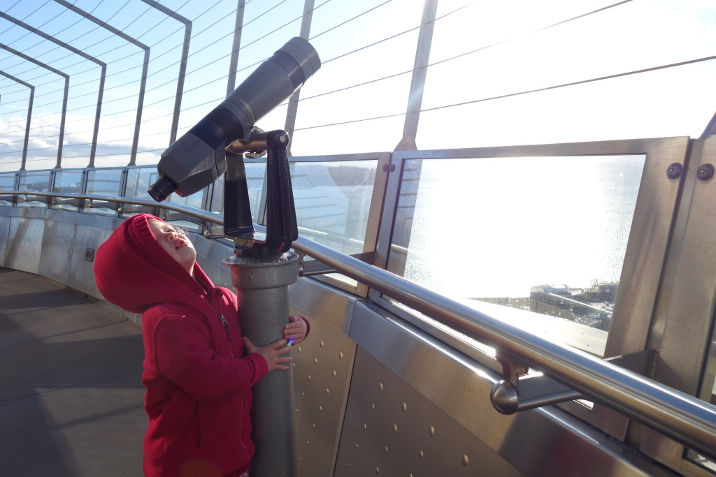 Space Needle exploration