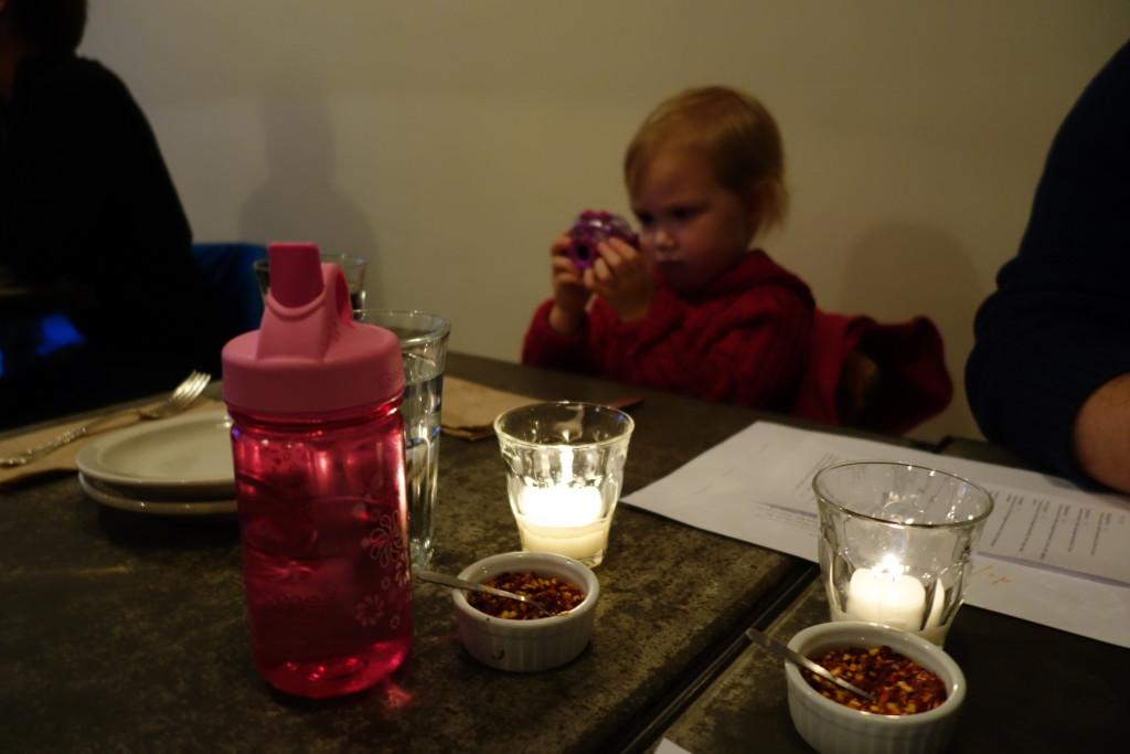 my little photographer at Delancey