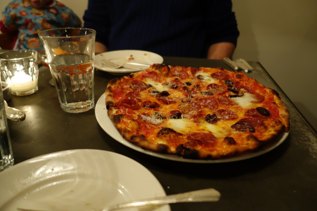 pizza at Delancey