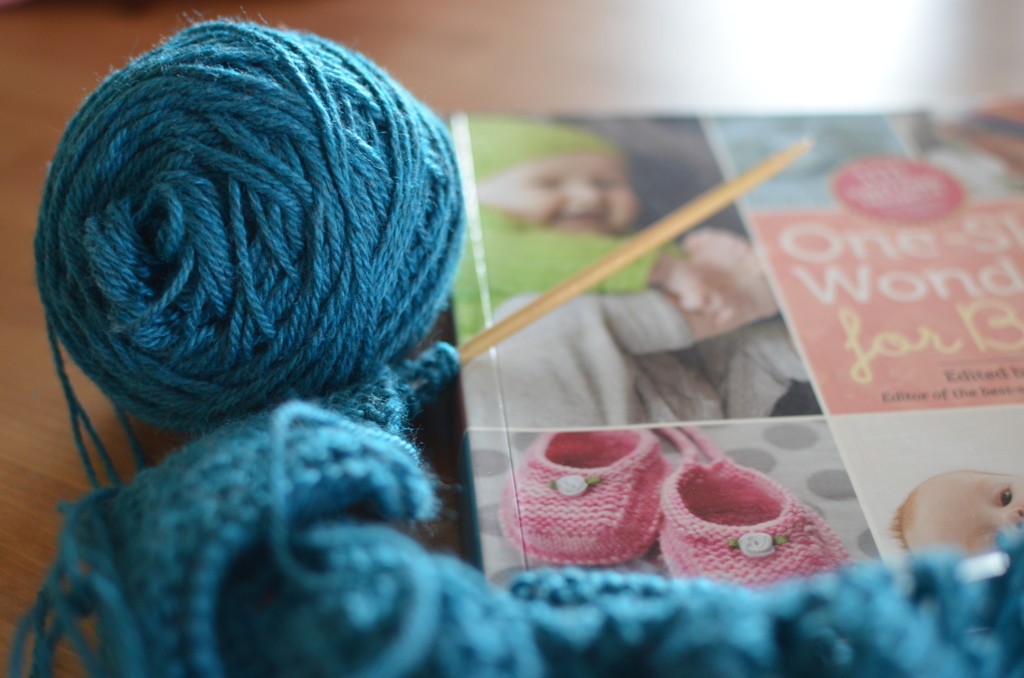 lovely turquoise yarn