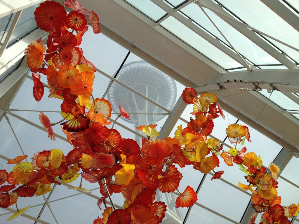 Chihuly and Space Needle