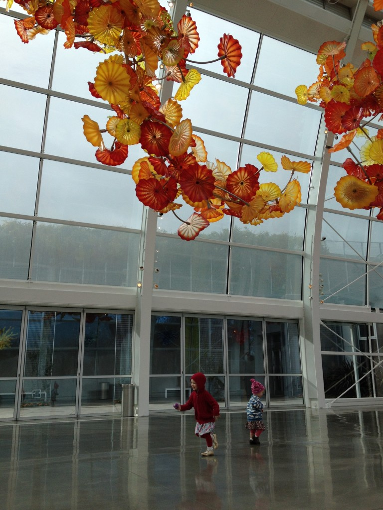 children and Chihuly