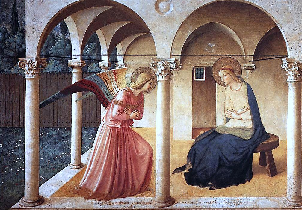 annuncation fra angelico