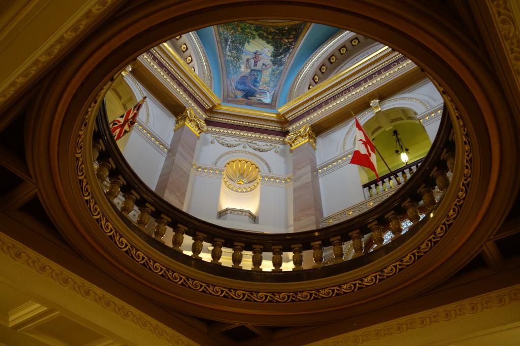 Victoria, BC parliament building