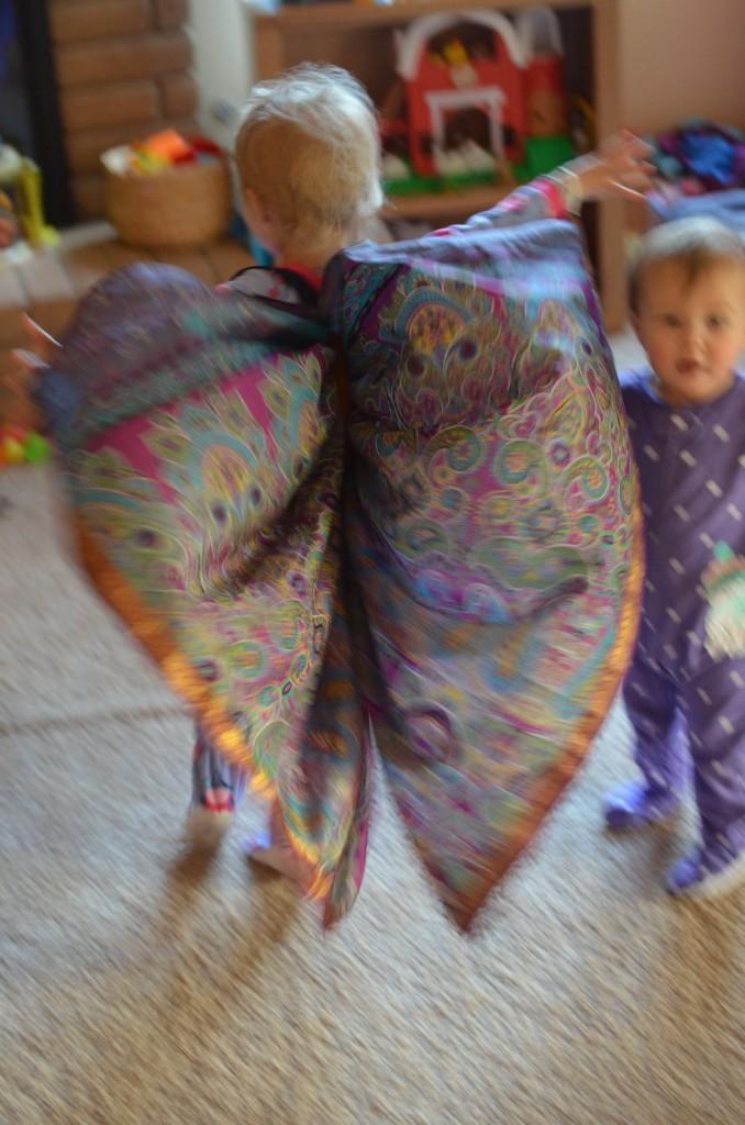 Evey butterfly wings