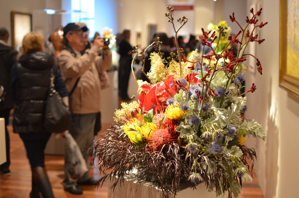 Bouquets to Art - De Young 2016