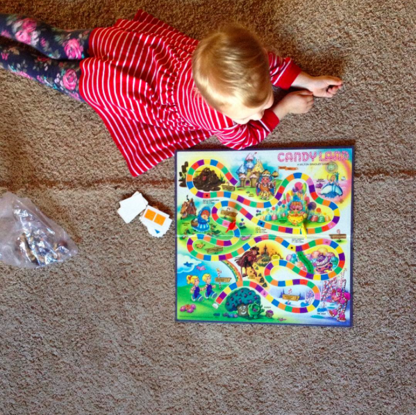 playing Candy Land
