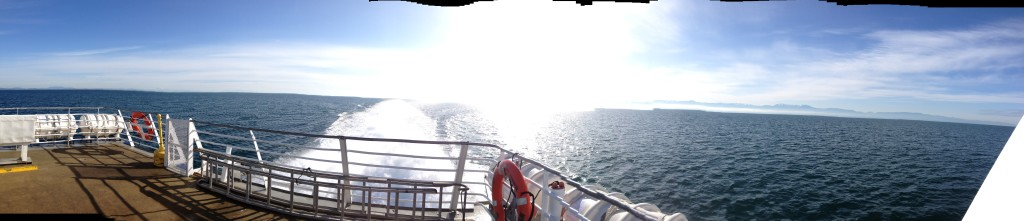 panorama from the ferry